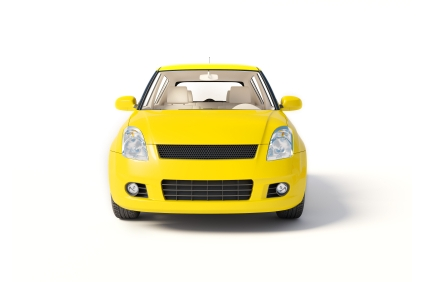 the car is yellow