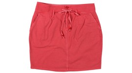 this is a red skirt